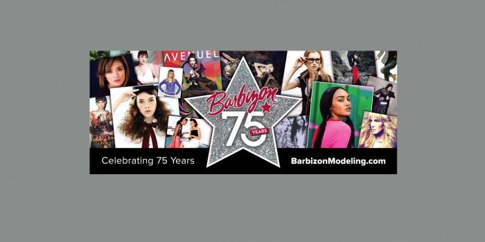 Barbizon 75th Anniversary Banner