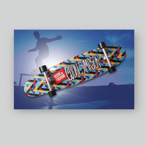 Barbizon Cody Simpson Co-Branded Skateboard