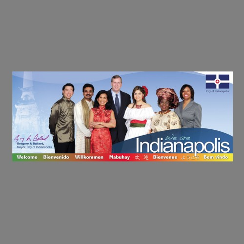 City of Indianapolis Airport Banner
