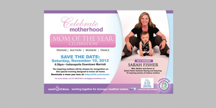 March of Dimes Mother of the Year Campaign